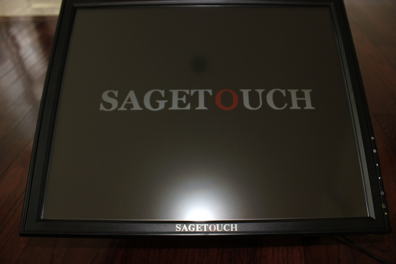 "15"" Touch Screen LCD VGA Monitor POS"