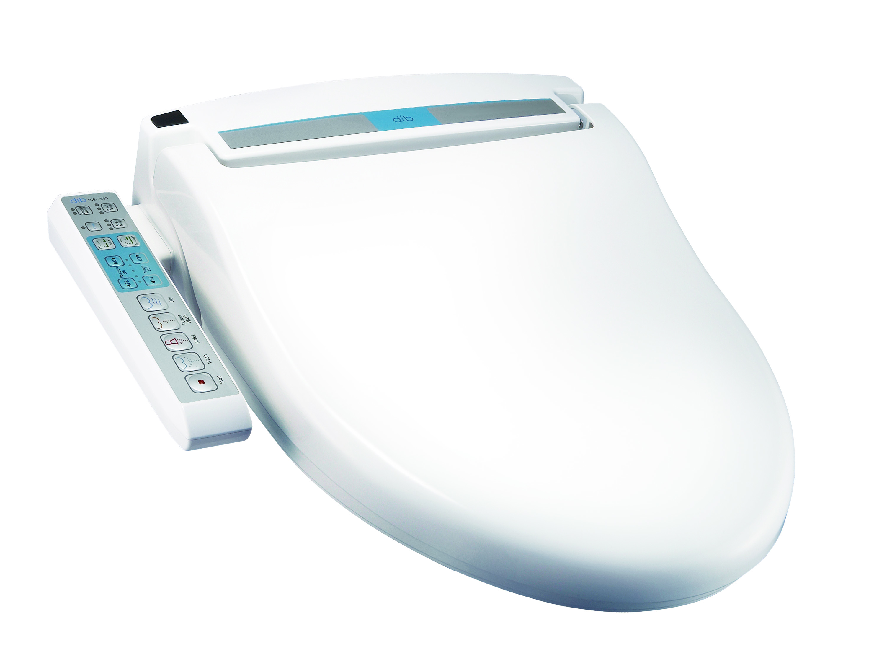 dib2500 Auto Bidet Spa - Luxury electronic toilet seat
