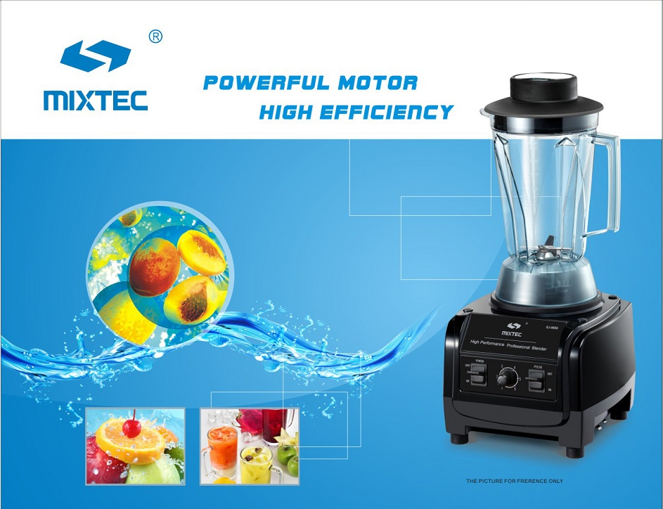3HP Heavy Duty Commercial Blender - Click Image to Close